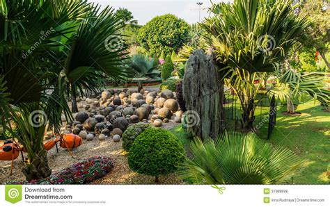 Tropical Rock Garden Rock Garden Of Park Nong Nooch Tropical Garden Thailand Royalty Free Stock Photos Image 37988698