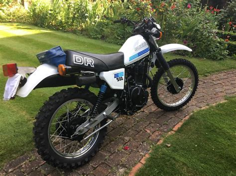 Suzuki Dr500 Restored Suzuki Dr500 1983 Photographs At Classic Bikes