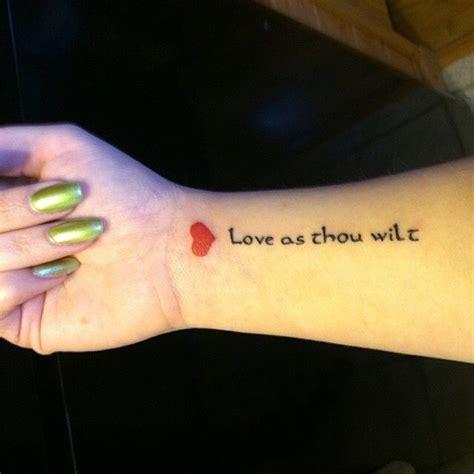 small red heart tattoo as thou wilt kushiel kushiel s dart