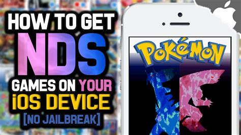 i mod game no jailbreak how to get nds4ios games on your ios device 10 0 2