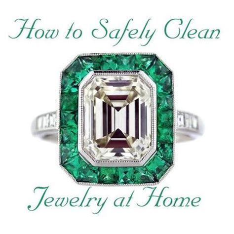 how to clean jewelry at home safely paperblog