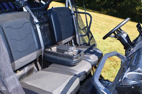 Window Box Seat With Storage - 2016 can am defender utv review atv illustrated
