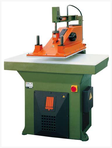 swing beam press swing arm clicker press atom manufacturers supplies co