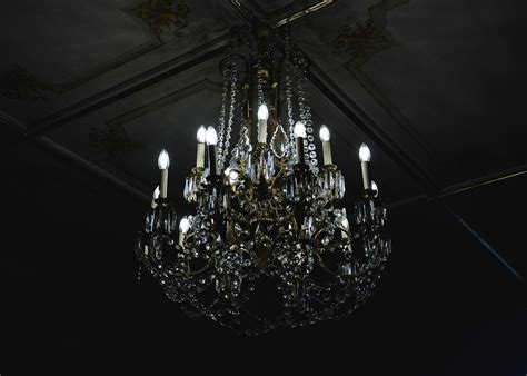 Black And White Chandelier Wallpaper Free Photo Chandelier Decoration Glass Free Image On Pixabay 1868527