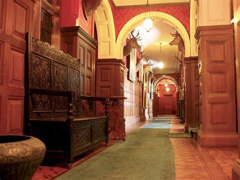 kinloch castle corridor interior corridor  kinloch