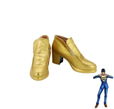 2845809131 jojo s bizarre adventure golden jojo bizarre adventure bruno bucciarati golden shoes