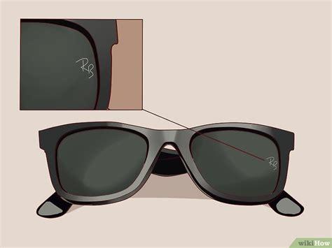 formas de saber se um oculos ray ban  falso