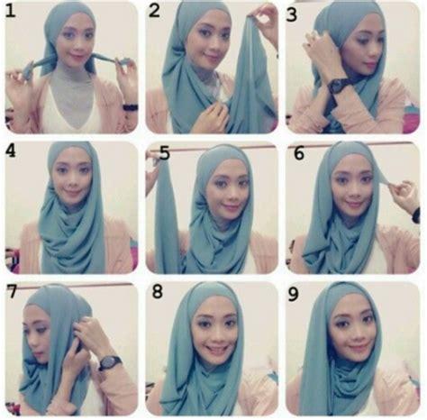 tutorial jilbab pashmina untuk acara santai cara pakai jilbab pashmina modern untuk acara santai hot