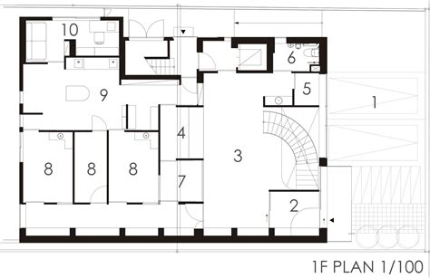 floor plan of dental clinic gallery of pony pediatric dental clinic masahiro