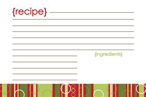 printable recipes templates printable recipe cards pour tea and coffee page 2
