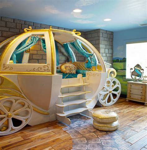 Cinderella Crib Bedding Fantasy Beds For Kids From Race Cars To Pumpkin Carriages