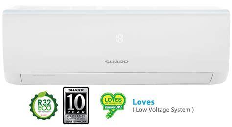 Ac Sharp R32 Eco jual trade in sharp ah a9ucy ac split 1 pk standard r32 gratis bongkar ac lama dan pasang
