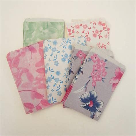 Small Paper Bag Pattern | small 6cmx9 5cm set 50 vintage flower 4 pattern mini candy