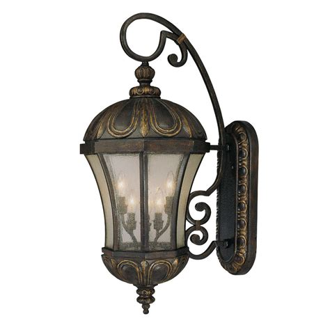 Outdoor Bulb Lights by Shop 35 37 In H Tuscan Outdoor Wall Light At Lowes