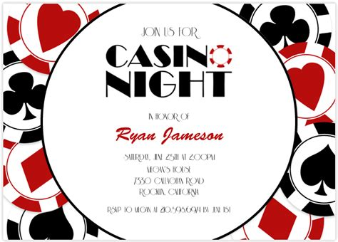 Make Your Own Birthday Cards Online For Free - casino party invitations theruntime com
