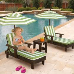 children s patio furniture costco kidkraft outdoor youth chaise lounger set oh my