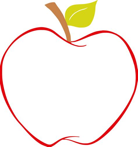 apples to color clipart best pictures of apples to color clipart best