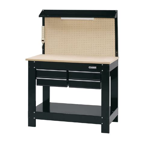 lowes benches shop kobalt 60 in h work bench at lowes com