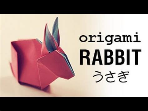 Origami Rabbit Tutorial - 174 best origami paper a of images on