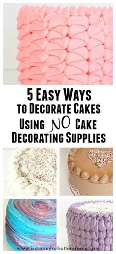 7 Adorable Ways To Decorate A Cake by Mini Cupcake Decorating Tip Set Decorate Cupcakes Like A