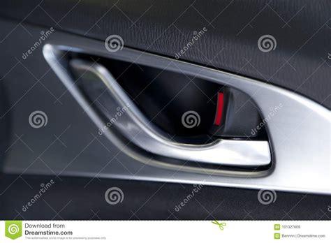 Car Interior Door Handle Car Door Handle Stock Image Image Of Mirror Unlocking 101327609