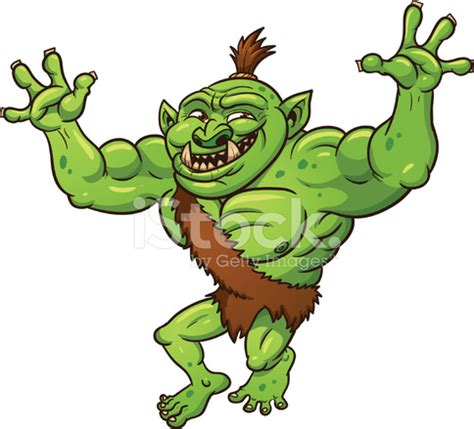 massage troll cartoon troll stock vector freeimages com