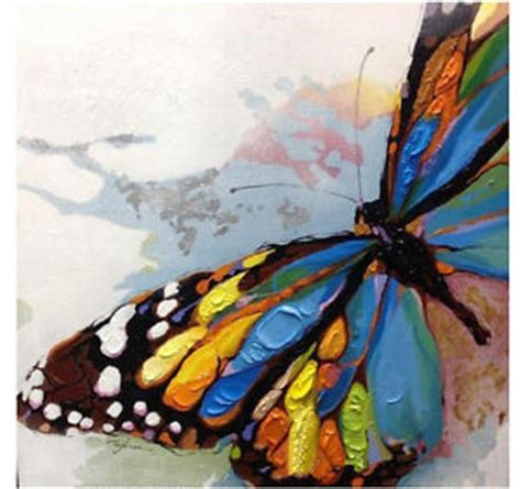 hand painted wall design paint pinterest powder hand painted beautiful butterfly abstract canvas oil