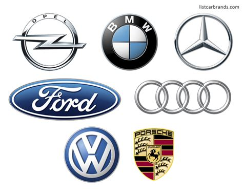 list of car brands german car brands companies and manufacturers world