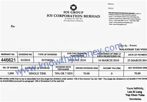 dividend statement template australia lhdn be form 2014 hairstylegalleries