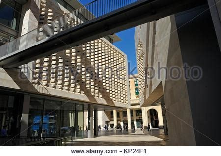 who designed the new parliament house mediterranean europe malta valletta new city gate designed by stock photo royalty