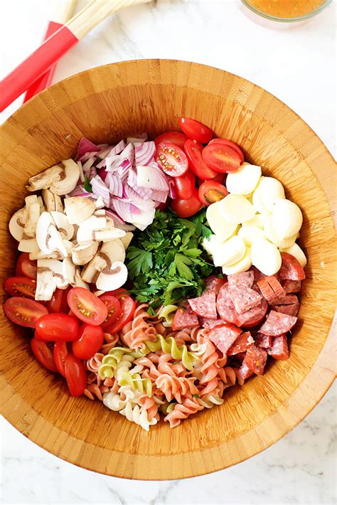cold pasta salad with italian dressing easy italian pasta salad with italian dressing make and