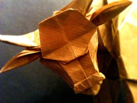 Origami Buffalo - origami water buffalo up by mrchrizpy on deviantart