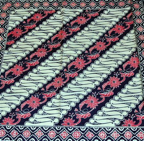 motif bunga batik batik pasisiran hedabatik