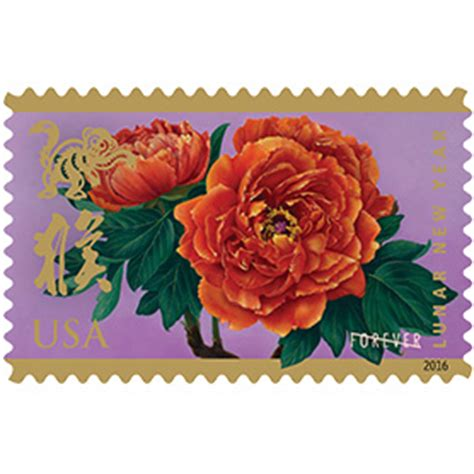 usps new year sts monkey lunar new year year of the monkey