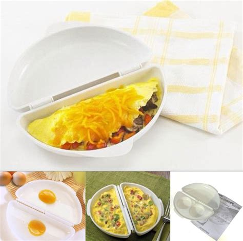membuat omelet dengan microwave microwave omelet egg tray cooker pan white
