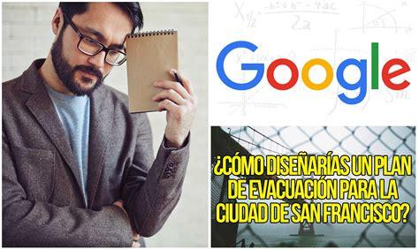preguntas de entrevistas de trabajo de google eliminadas - Preguntas En Una Entrevista De Google