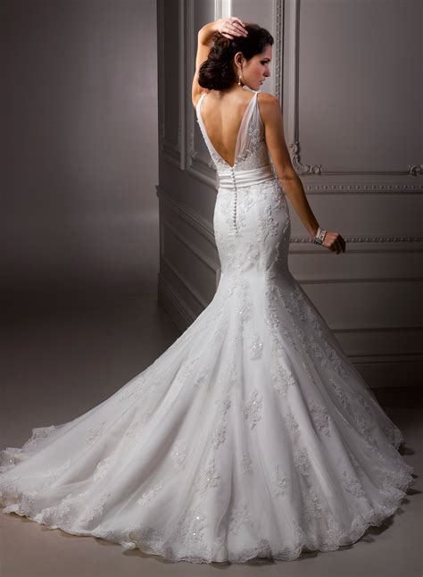 mermaid wedding dress wedding dress decoration