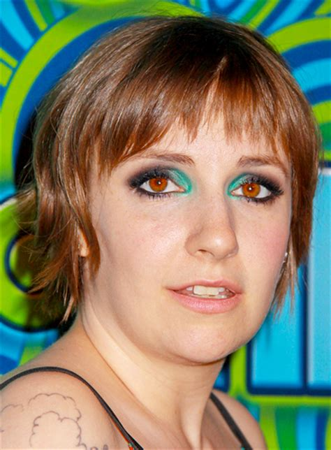 brunette medium hairstyles 2014 lena dunham short brunette funky layered hairstyle life