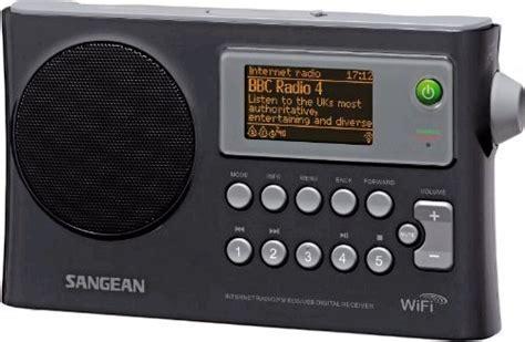 best wifi radio sangean wfr 28 rechargeable portable wi fi radio