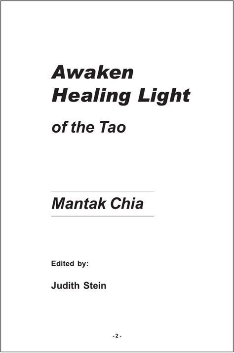 Awaken Healing Light Of The Tao Mantak Chia Bahasa Inggris mantak chia awaken healing light