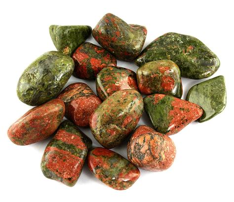 the of the week unakite