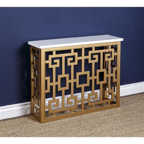 gold pattern sofa black and gold two drawer sofa table