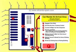 Car Rental Alicante Comparison Alicante Airport Maps
