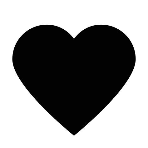 emoji love hitam icono de me gusta relleno descarga gratis en png y vector