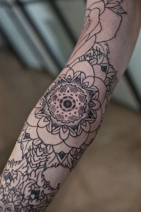 mandala tattoo white tatouage tattoo mandala 04 inkage