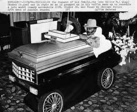 Buried In Cadillac Casket Flukey Stokes Cadillac Coffin Picture