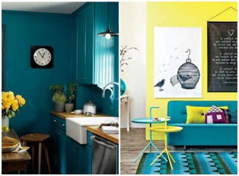 Teal And Yellow Home Decor by Shake Trend Shake Shades Of Blue In 2014