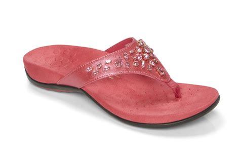 Pearl Wide Width Sandal vionic pearl s orthaheel sandals med wide