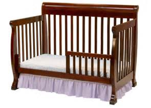 Cribs That Convert To Toddler Beds Kalani Crib In Cherry Toddler Bed Conversion