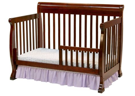 Convert Crib To Toddler Bed Kalani Crib In Cherry Toddler Bed Conversion